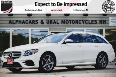2018_Mercedes-Benz_E400_4Matic Designo AMG Sport Wagon_ Boxborough MA