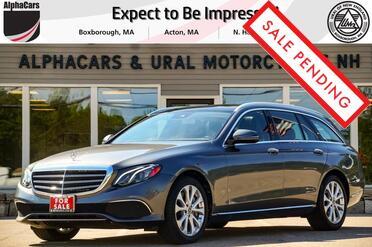 2018_Mercedes-Benz_E400_4Matic Luxury Wagon_ Boxborough MA