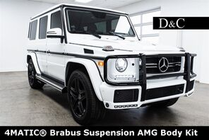 2018_Mercedes-Benz_G-Class_G 550 4MATIC Brabus Suspension AMG Body Kit_ Portland OR