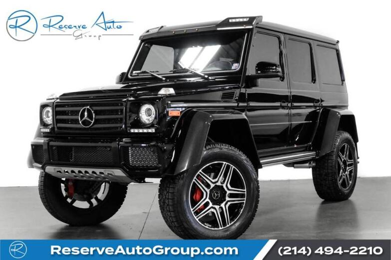 2018 Mercedes-Benz G-Class G 550 4x4 Squared The Colony TX