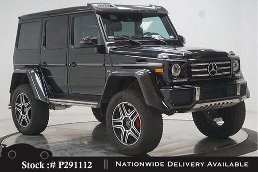 2018_Mercedes-Benz_G-Class_G 550 Squared NAV,CAM,SUNROOF,CLMT STS,22IN WHLS_ Plano TX