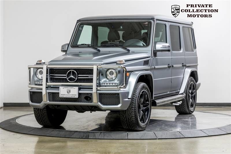 2018_Mercedes-Benz_G63 AMG_AMG G 63 G-Class 1 Owner $157,245 MSRP_ Costa Mesa CA