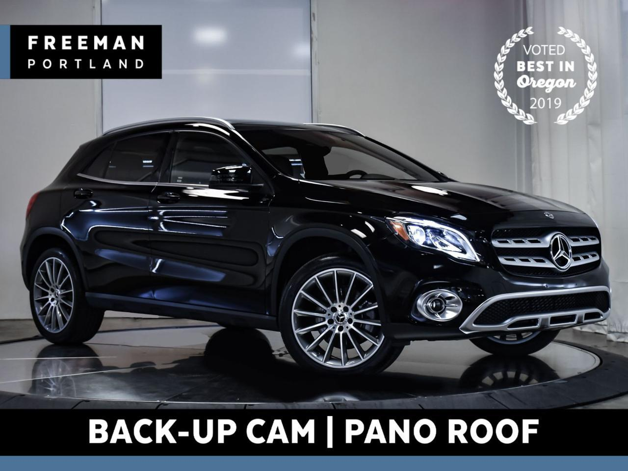 2018 Mercedes-Benz GLA 250 4MATIC 15k Miles Back-Up Cam Pano Heated Seats