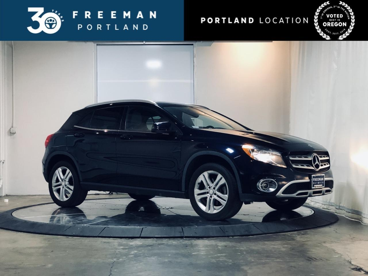 2018 Mercedes-Benz GLA 250 4MATIC Heated Seats Blind Spot Assist Portland OR