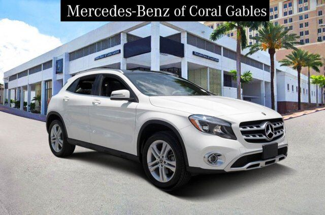 2018 Mercedes-Benz GLA 250 4MATIC® SUV Coral Gables FL