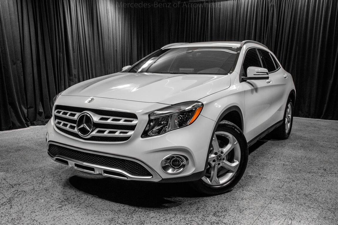 2018 mercedes benz gla 250 4matic suv peoria az 19236024 for White mercedes benz suv