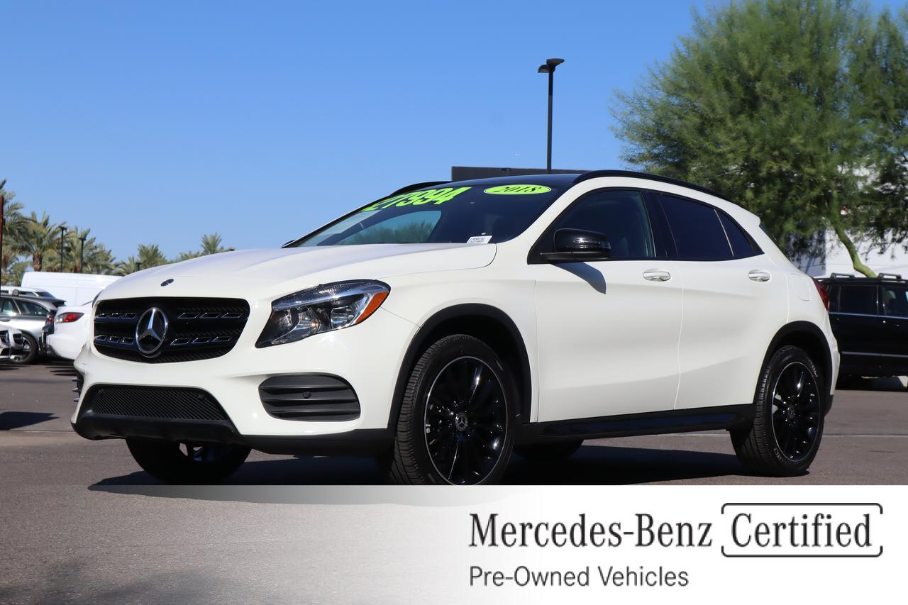 2018 Mercedes-Benz GLA 250 4MATIC® SUV Gilbert AZ