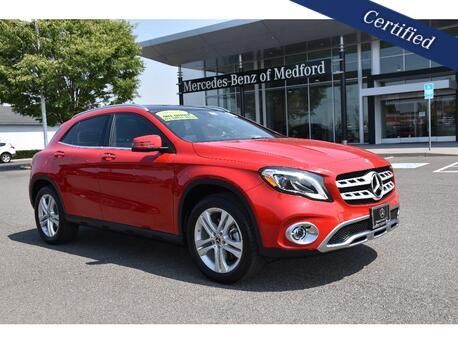 2018_Mercedes-Benz_GLA_250 4MATIC® SUV_ Medford OR