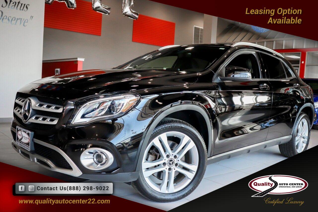 2018 Mercedes-Benz GLA 250 Convenience PKG, Panorama Roof, Prem PKG Springfield NJ