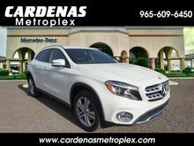 2018_Mercedes-Benz_GLA_250 SUV_ Harlingen TX