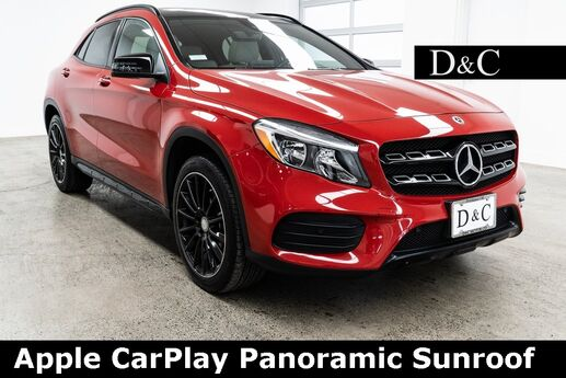 2018 Mercedes-Benz GLA GLA 250 4MATIC Apple CarPlay Panoramic Sunroof Portland OR