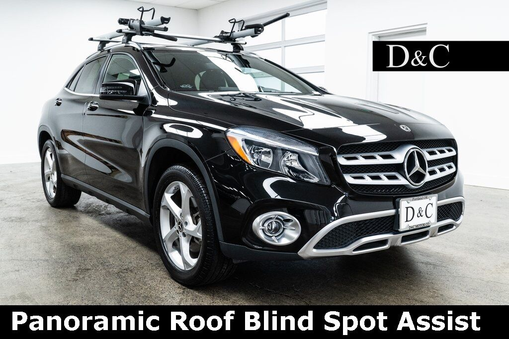 2018 Mercedes-Benz GLA GLA 250 4MATIC Panoramic Roof Blind Spot Assist Portland OR