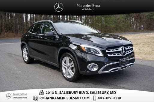 2018_Mercedes-Benz_GLA_GLA 250 4MATIC®** Mercedes-Benz Certified **_ Salisbury MD