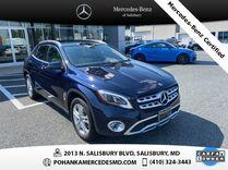 2018 Mercedes-Benz GLA GLA 250 4MATIC®** Mercedes-Benz Certified Pre-Owned **