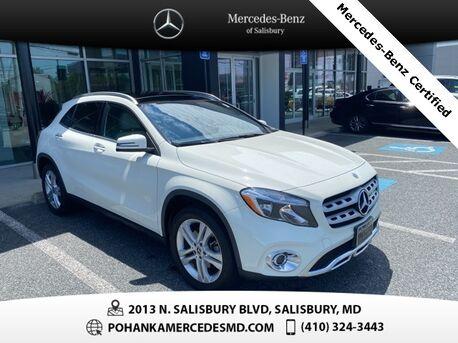 2018_Mercedes-Benz_GLA_GLA 250 4MATIC®** Mercedes-Benz Certified Pre-owned **_ Salisbury MD
