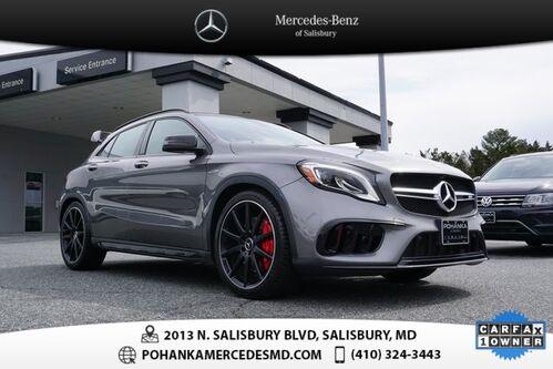 2018_Mercedes-Benz_GLA_GLA 45 AMG® 4MATIC® ** Mercedes-Benz Certified **_ Salisbury MD