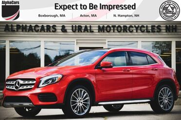 2018_Mercedes-Benz_GLA250_AMG Line 4Matic_ Boxborough MA