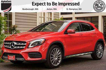 2018_Mercedes-Benz_GLA250_AMG Line 4Matic_ Boxborough MA