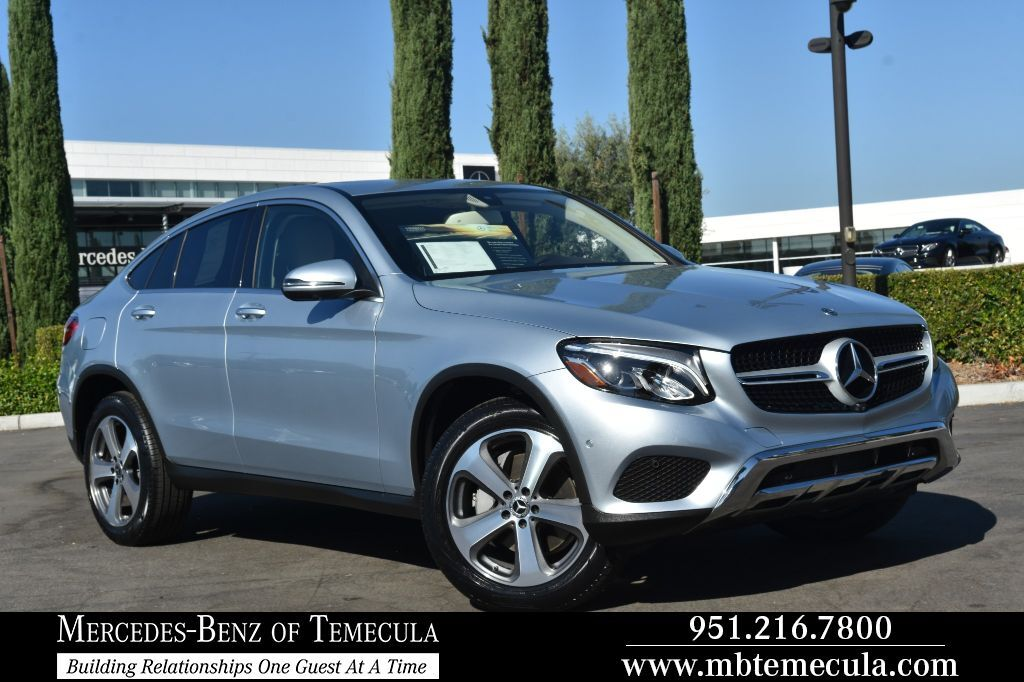 2018 Mercedes-Benz GLC 300 4MATIC® Coupe All Wheel Drive SUV