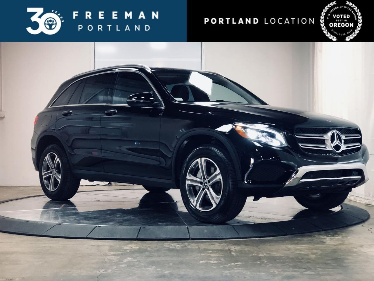 2018 Mercedes-Benz GLC 300 Heated Steering Wheel Apple CarPlay Illuminated Star Portland OR