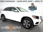2018 Mercedes-Benz GLC 300 *PANORAMA MOONROOF, BLIND SPOT ALERT, BACKUP-CAMERA, STEERING WHEEL CONTROLS, PUSH BUTTON START, ALLOY WHEELS, BLUETOOTH, APPLE CARPLAY