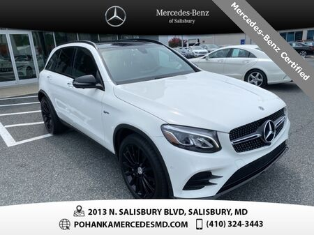 2018_Mercedes-Benz_GLC_GLC 43 AMG® 4MATIC® ** Mercedes-Benz Certified Pre-Owned **_ Salisbury MD