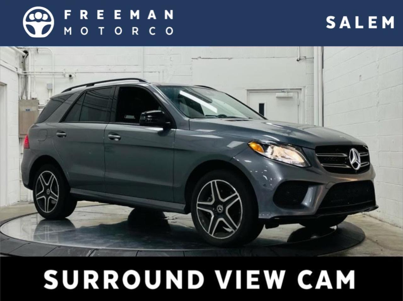 2018 Mercedes-Benz GLE 350 4MATIC Night Package Pano Roof Surround Cam Salem OR