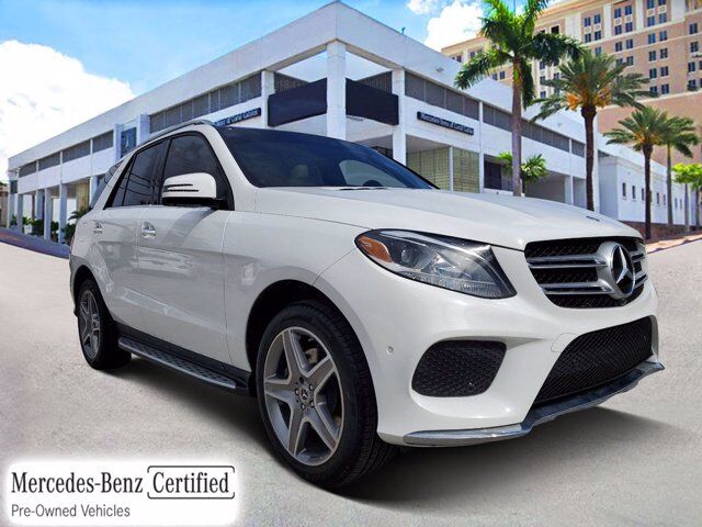 2018 Mercedes-Benz GLE 350 4MATIC® SUV # Z123 Coral Gables FL