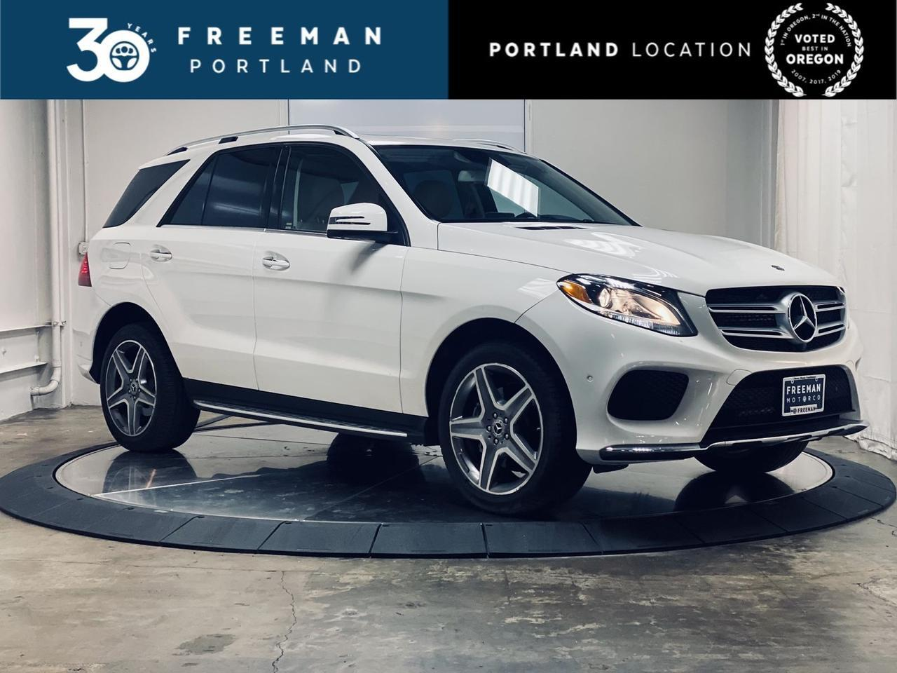 2018 Mercedes-Benz GLE 350 AMG Sport Appearance Harmon Kardon Surround Sound Portland OR
