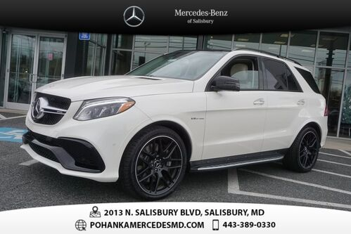 2018_Mercedes-Benz_GLE_63 AMG® 4MATIC®_ Salisbury MD