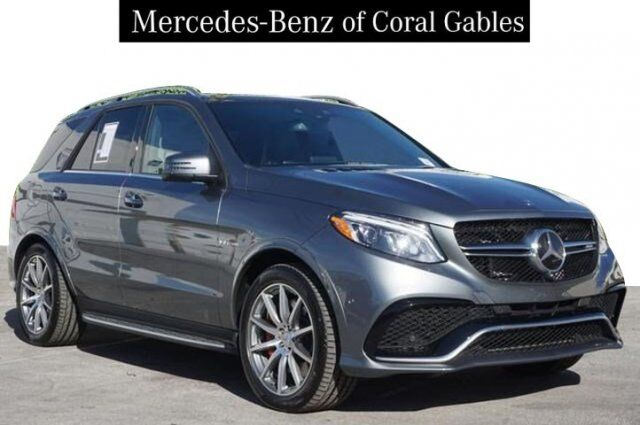 2018 Mercedes-Benz GLE AMG® 63 S SUV Coral Gables FL