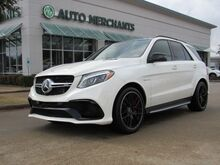 2018_Mercedes-Benz_GLE Class_GLE63 S AMG 4 MATIC*WIFI HOTSPOT,BACKUP CAM,BLINDSPOT,BLUETOOTH,NAVIGATION,UNDER FACTORY WARRANTY!_ Plano TX