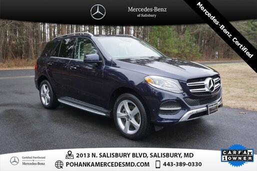 2018_Mercedes-Benz_GLE_GLE 350 4MATIC® ** Mercedes - Benz Certified **_ Salisbury MD