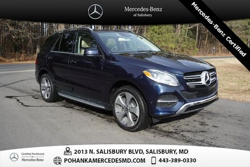 2018_Mercedes-Benz_GLE_GLE 350 4MATIC® ** Mercedes-Benz Certified **_ Salisbury MD