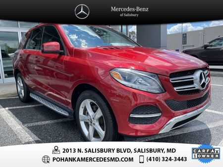 2018_Mercedes-Benz_GLE_GLE 350 4MATIC® AWD ** NAVI & SUNROOF ** ONE OWNER **_ Salisbury MD