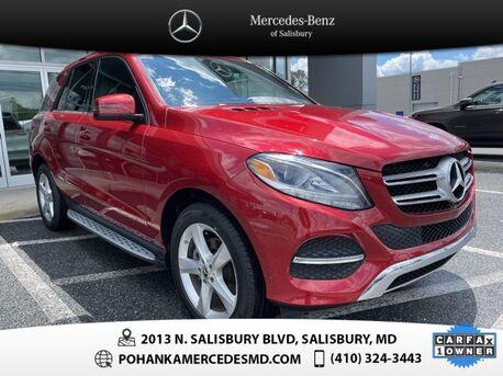 2018_Mercedes-Benz_GLE_GLE 350 4MATIC® AWD ** NAVI & SUNROOF ** ONE OWNER **_ Salisbury MD