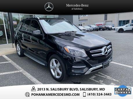 2018_Mercedes-Benz_GLE_GLE 350 4MATIC® AWD ** NAVI & SUNROOF **_ Salisbury MD