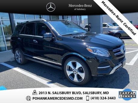 2018_Mercedes-Benz_GLE_GLE 350 4MATIC®* Mercedes-Benz Certified Pre-Owned **_ Salisbury MD