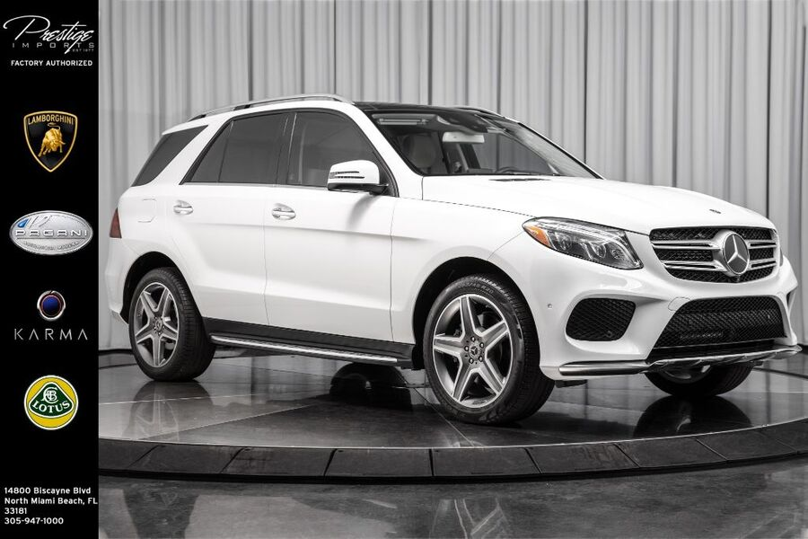 2018_Mercedes-Benz_GLE_GLE 350_ North Miami Beach FL