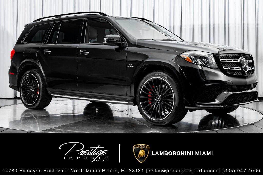 2018 Mercedes-Benz GLS AMG GLS 63 North Miami Beach FL