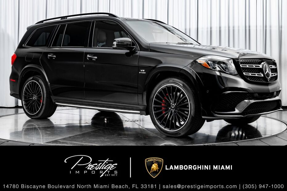 2018_Mercedes-Benz_GLS_AMG GLS 63_ North Miami Beach FL