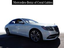 2018_Mercedes-Benz_S_450 Long wheelbase_ Coral Gables FL