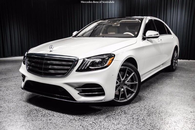 2018 mercedes benz s 450 long wheelbase scottsdale az 20557033 for Mercedes benz north scottsdale