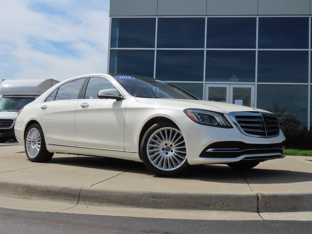 2018 Mercedes-Benz S 560 4MATIC® Sedan Kansas City MO