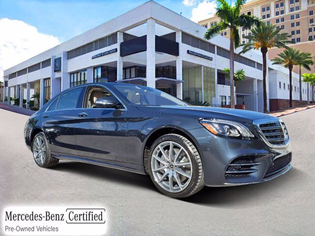 2018 Mercedes-Benz S 560 4MATIC® Sedan Coral Gables FL