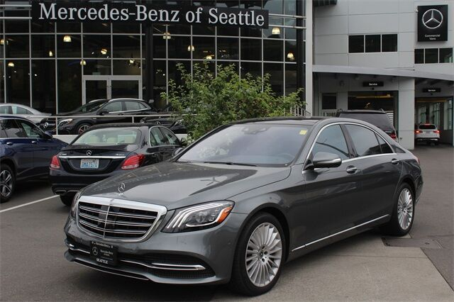 2018 Mercedes-Benz S-Class 560 4MATIC® Sedan