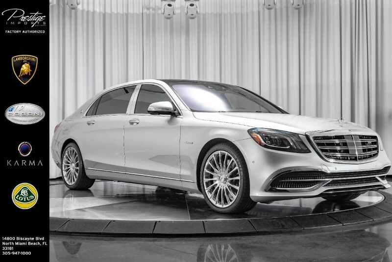 2018_Mercedes-Benz_S-Class_Maybach S 560_ North Miami Beach FL