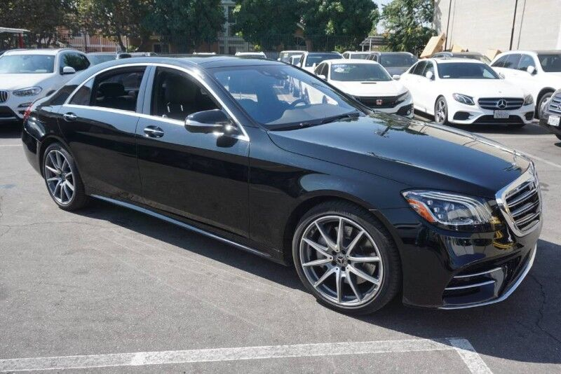 2018 Mercedes-Benz S-Class S 450 (07/17) SPORT / DISTRONIC PLUS / MAGIC VISION /20AMG Monterey Park CA