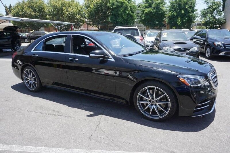 2018 Mercedes-Benz S-Class S 450 (08/17) SPORT PACKAGE / DISTRONIC PLUS / PANORAMA ROOF Monterey Park CA