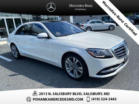 2018_Mercedes-Benz_S-Class_S 450 4MATIC®** Mercedes-Benz Certified ** ONE OWNER **_ Salisbury MD